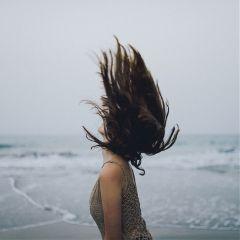 hair girl beach wedding nature freetoedit