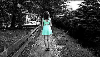 colorsplash blackandwhite loneliness artisticselfie dress