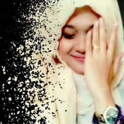 mysister dispertion moslem proud portrait