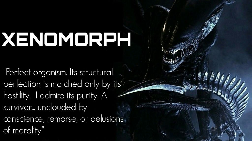 Alien Xenomorph Ripley Space Movie Quote Dark Horror