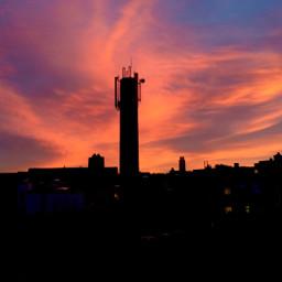 sky color antwerp skyline city freetoedit