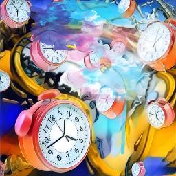 clocks interesting salvadordali surrealism experiment