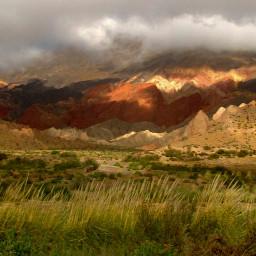 argentina photography colorful landscape mountains