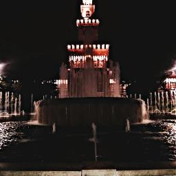 castellosforzesco milanocity milanobynight photography autumn
