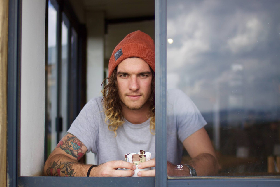 Get lost in your imagination. Show us the crazy ways your mind can work. Get remixing!  Unsplash (Public Domain)  #FreeToEdit #man #human #portrait #object #stylish #window #tattoo