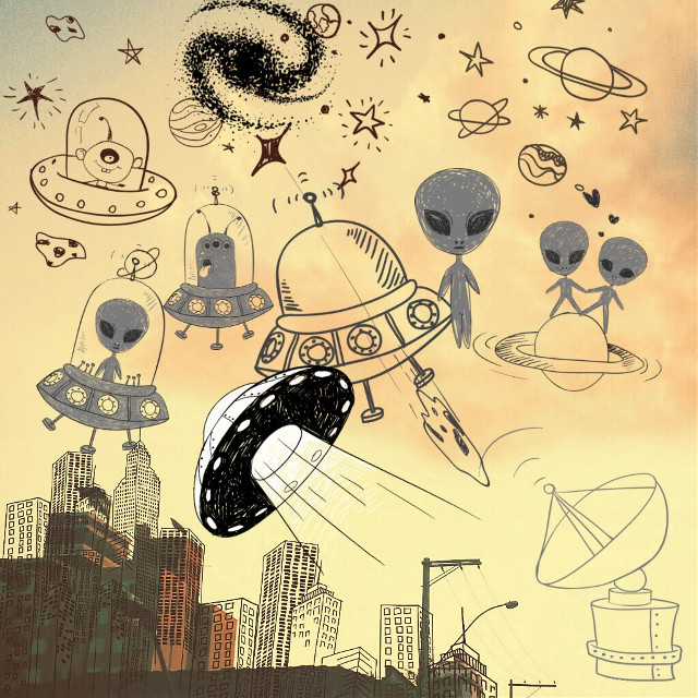 #FreeToEdit #space UFO#interesting #art