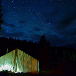 camping campsight beautiful beautifulscenery night