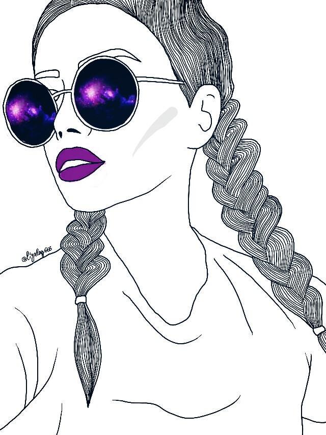 #FreeToEdit #GalaxyGirl #hipster # boldlip