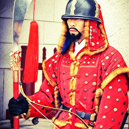 soldier korea king colorful freetoedit