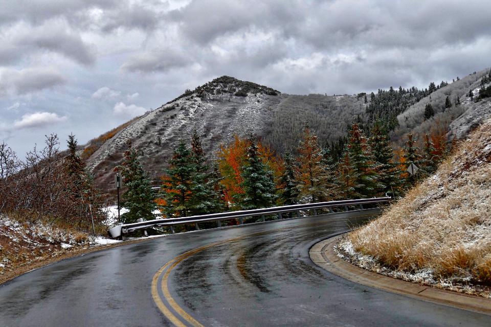 Seasonal Merge #AngelEyesImages#fall #autumn#snow#utah photography#landscapephotography#freetoedit