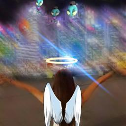 myangel aliens flying high motionlblur