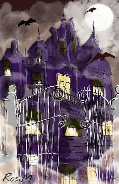 wdphauntedhouse drawing helloween digitaldrawing
