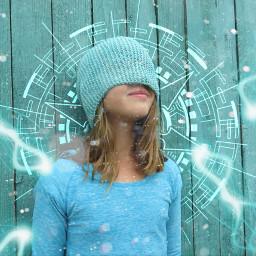 turquoise blue superpower magic magicdust
