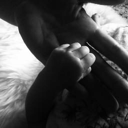 baby mother hands black sweet