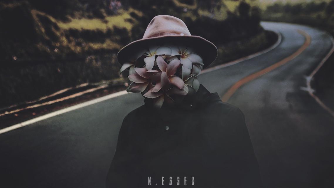 #surrealism #surrealart  #mobileediting #mysterious #people #flowers #naturecomingtolife #doubleexposure