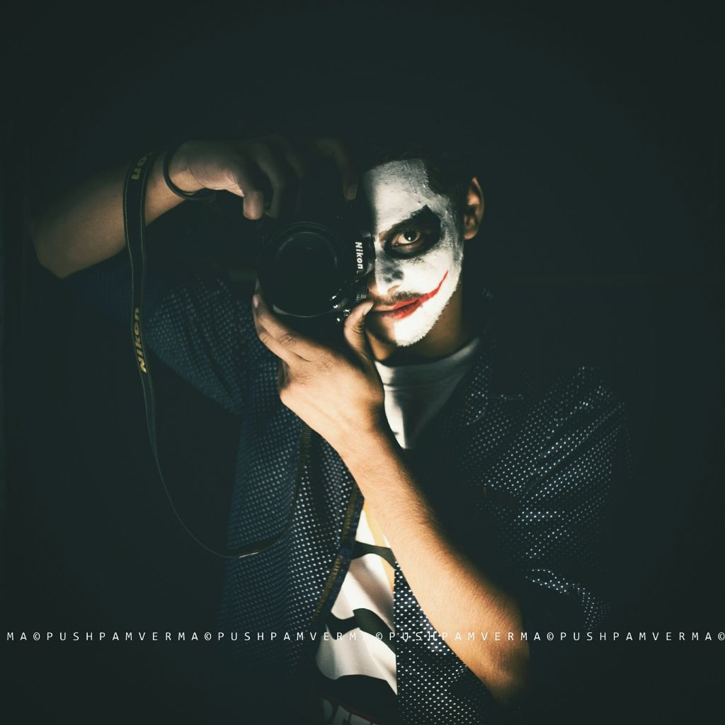 y so serious photography india horror joker scary ca