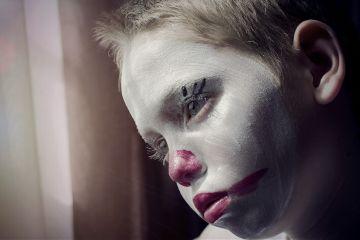 clown clownface