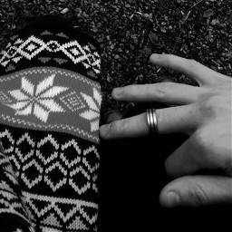 black blackandwhite couple winter autumn
