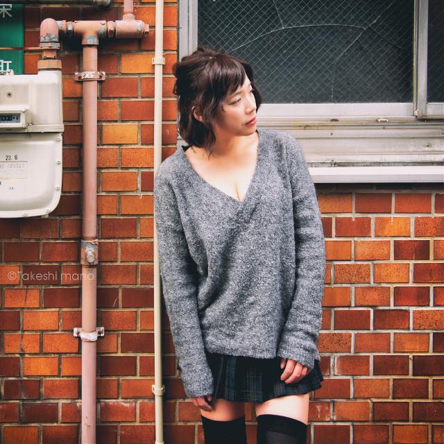 #portrait #japan #backstreet #woman #girl #photography #people