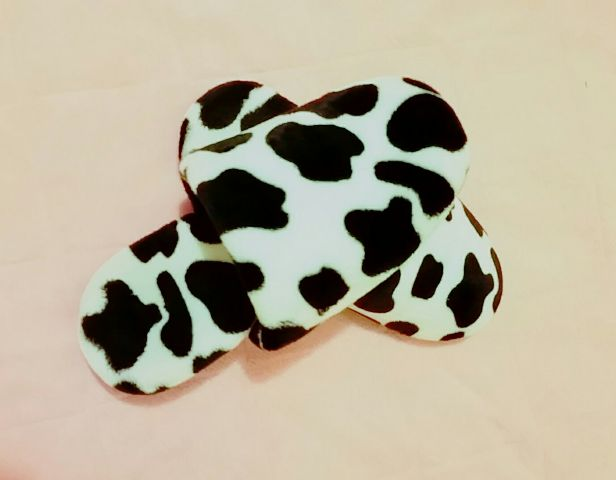#freetoedit,#roomshoes,#cow,#cute,#favorite